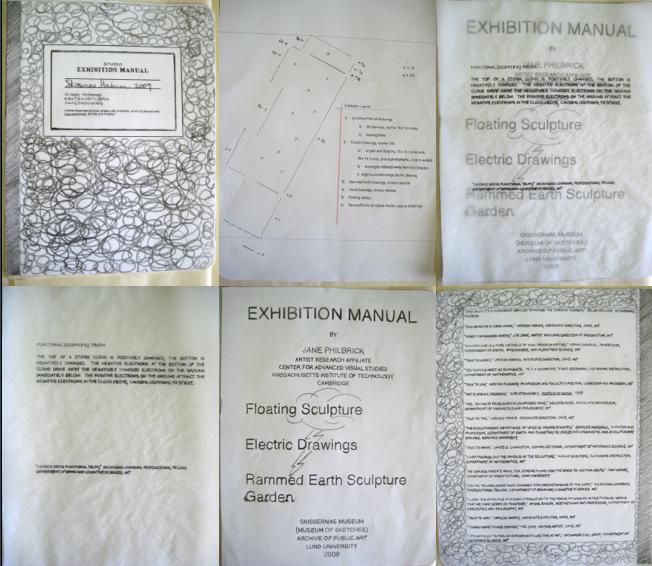 1. exhibition manual blog