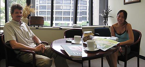 Michael Rubner meeting:5 August