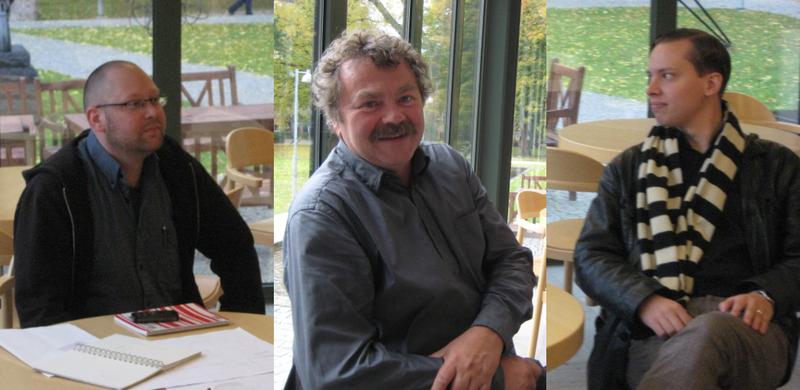 Jens Arvidson, Finn Werne, Örjan Bellind, Lund 10 Oct 08