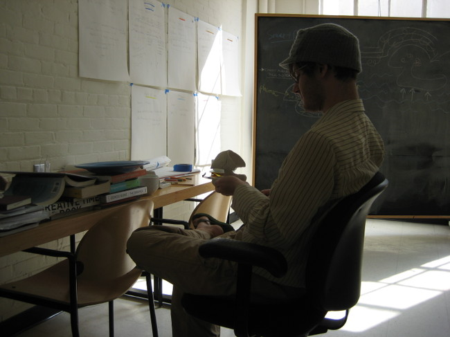 Neal_with_clay_model